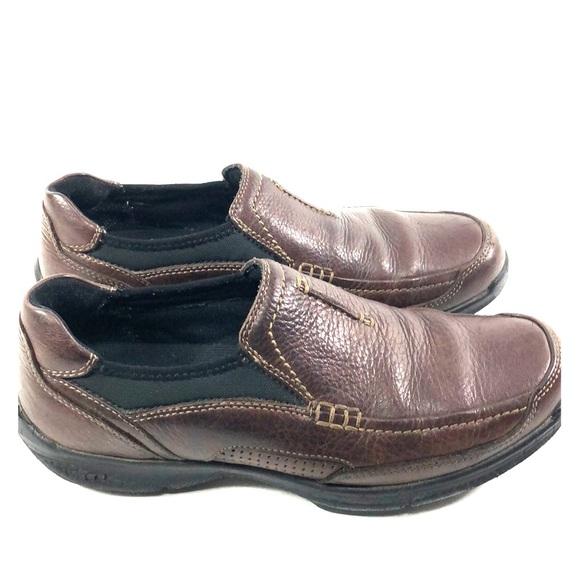 Clarks Wave Walk Brown Loafers Slip On